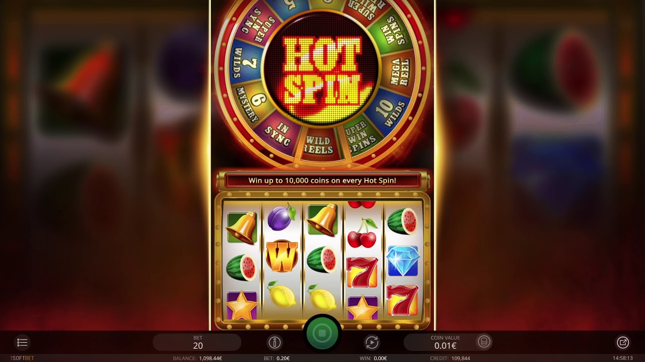 Hot Spin Slot Game
